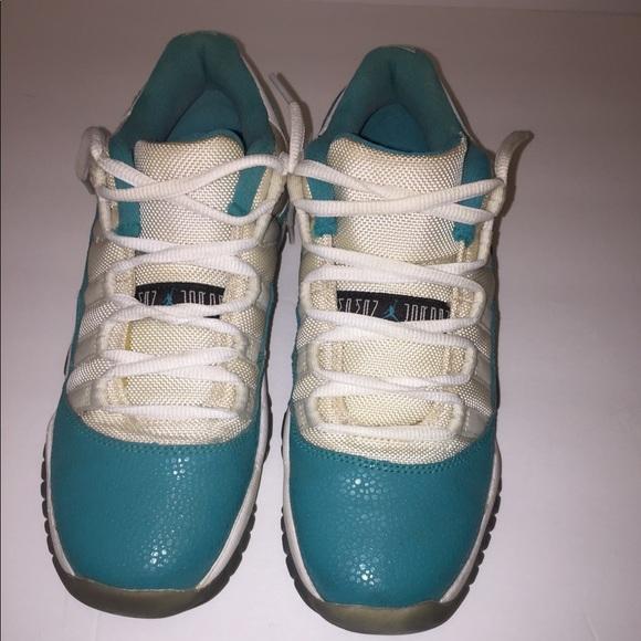 """promo code c5786 c3c12 Jordan Shoes - Air Jordan 11 Retro Low GG (GS) """"Aqua Safari"""""""